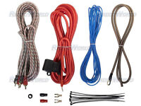 Amplifier Wiring Kit 10 AWG For Car Audio Speakers Subwoofer/Amp