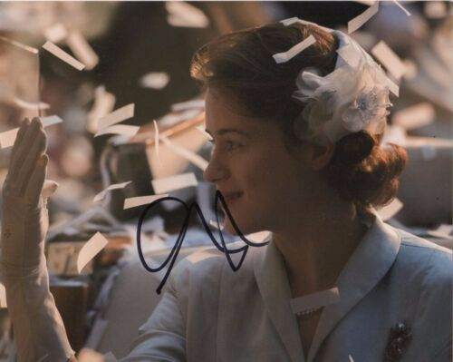 Claire Foy The Crown Signed 8x10 Autograph Photo COA  #12