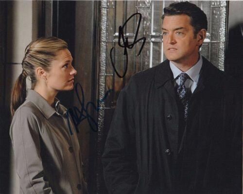 Timothy Omundson Maggie Lawson Psych Autographed Signed 8x10 Photo COA  #1