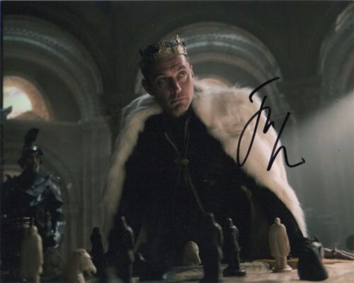 Jude Law King Arthur Autographed Signed 8x10 Photo COA #A3