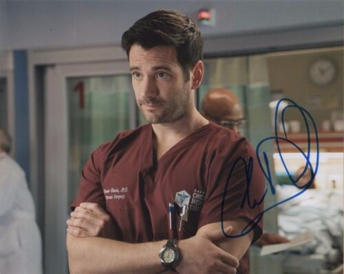 Colin Donnell Chicago Med Autographed Signed 8x10 Photo COA #11