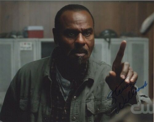 Steven Williams Supernatural  Autographed Signed 8x10 Photo COA #2