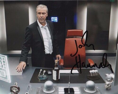 John Hannah Agents of Sheild Autographed Signed 8x10 Photo COA #5
