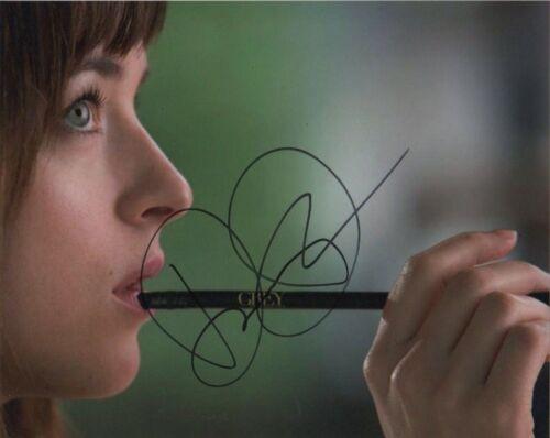 Dakota Johnson Fifty Shades Autographed Signed 8x10 Photo COA  J10