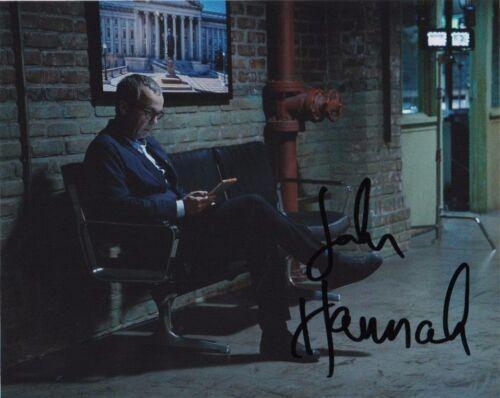 John Hannah Agents of Sheild Autographed Signed 8x10 Photo COA #6