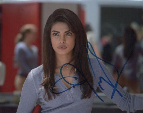 Priyanka Chopra Quantico Autographed Signed 8x10 Photo COA #1