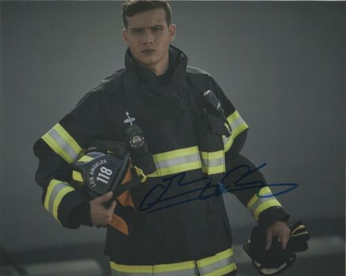 Oliver Stark 9-1-1 Autographed Signed 8x10 Photo COA B316