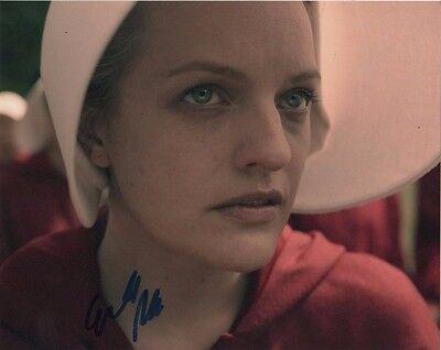 Elisabeth Moss Handmaids Tale Autographed Signed 8X10 Photo Coa  5