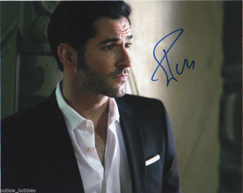 Tom Ellis Lucifer Autographed Signed 8x10 Photo COA #1