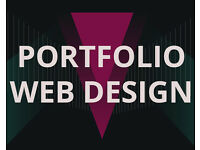 Portfolio web design for creatives - Freelance web designer
