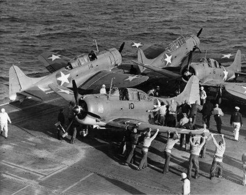 "US Navy Douglas SBD Dauntless ((8.5""X11"")) Print"