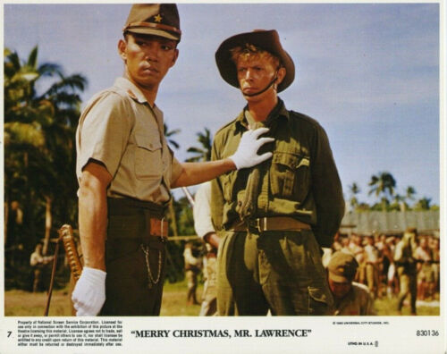 MERRY CHRISTMAS MR LAWRENCE (1983) Original 8x10 Color Set - David Bowe