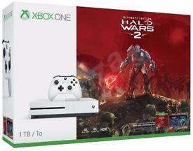 Xbox One S 1TB Halo Wars 2 Bundle UNPACKED!