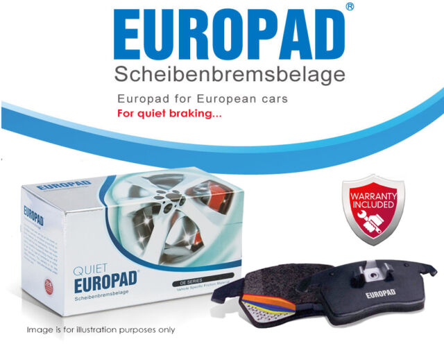 Volkswagen Bora 2.3 V5 Sedan 2000 - ON Europad Front Disc Brake Pads DB1387