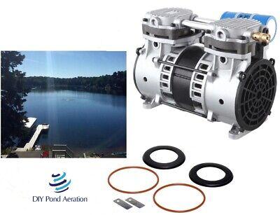 New 34hp Lake Fish Pond Aerator Pump Aeration Compressor Motor Rebuild Kit