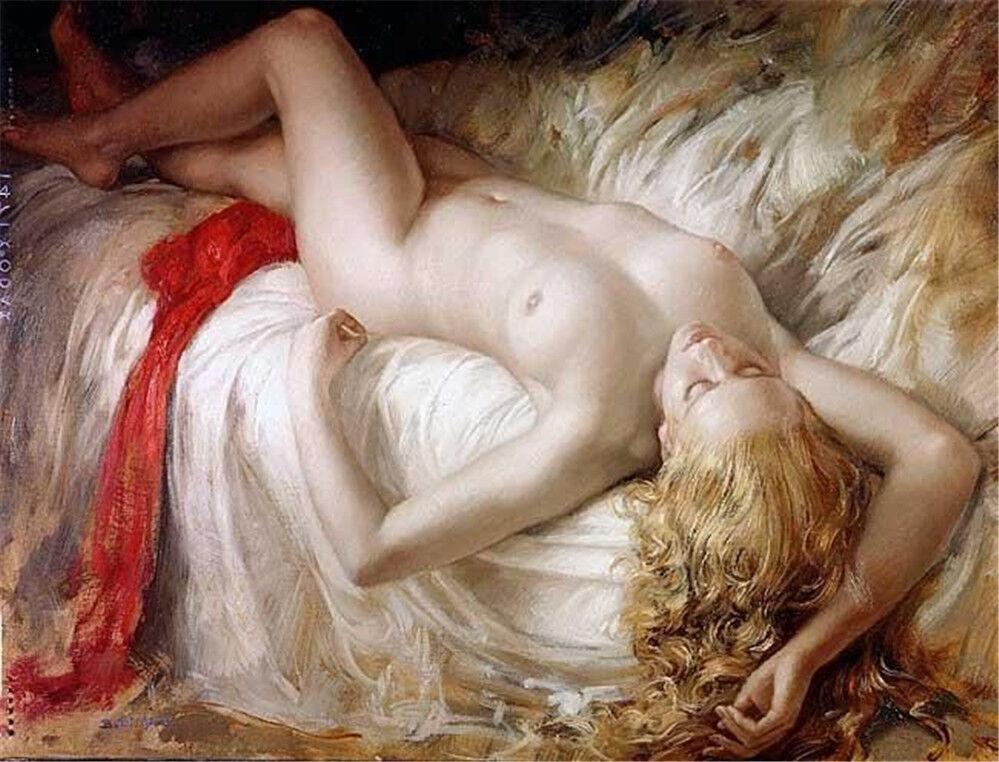 Naked woman having sex oil on canvas, xxx sexy bollywod