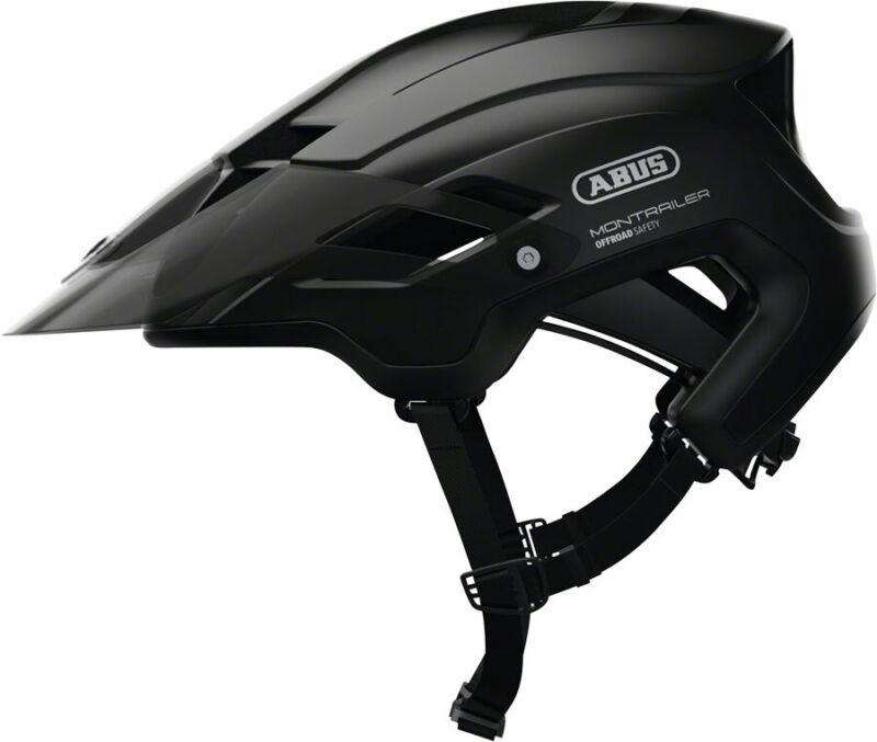 Abus Montrailer Helmet: Velvet Black LG
