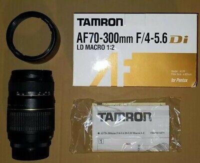 TAMRON AF 70-300mm F/4-5.6 Di LD MACRO 1:2 - Obiettivo Zoom Per...