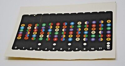 Guitar Fretboard Marker Stickers, NEW, combined postage available on request