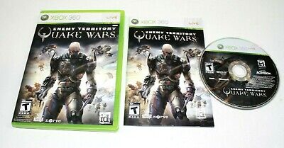 Enemy Territory: Quake Wars (Microsoft Xbox 360, 2008) Complete *Clean CD* for sale  Quebec