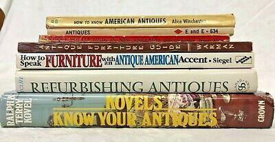 Antique Refurbishing Book Lot of 7 American Furniture Guide Bottle Finds