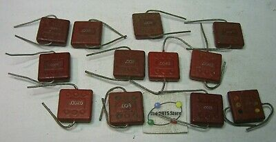 Assorted Sprague Silver Mica Domino Capacitor Grab-bag - Vintage Nos Qty 12