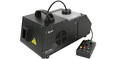 FH-700 MINI FOG-HAZE EFFECTS MACHINE 700W W/ TIMER REMOTE CONTROL & ROTARY FAN ()