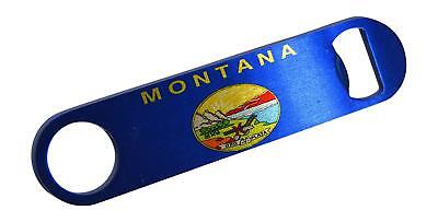 (Best Montana State Flag Speed Professional Bottle Opener Heavy Duty Gift MT)