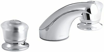 Kohler Coralais Widespread Bathroom Lavatory Faucet K-15265-7-CP Polished Chrome Coralais Widespread Bathroom Faucet