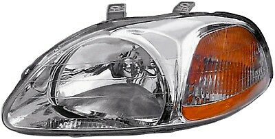 Headlight Lens-Assembly Left Dorman 1590642 fits 96-98 Honda Civic