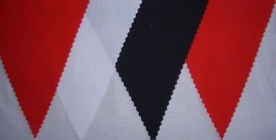 FOOTBALL BUNTING FLAGS RED WHITE & BLACK PARTY DECORATION GIFT 2MT OR MORE - Black Bunting