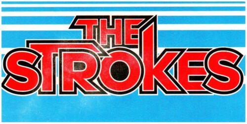 THE STROKES Future Present Past Ltd Ed New RARE Sticker +FREE Alt Rock Stickers
