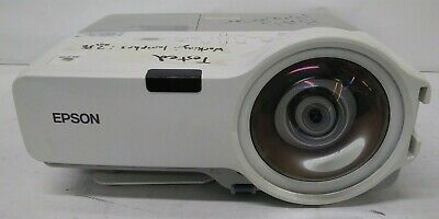 Epson PowerLite 410W H330A Short Throw LCD Projector 286 Lamp Hrs