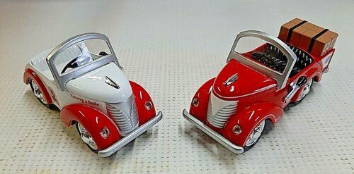 Mckee Foods 2 Piece Petite Pedal Car Set 2000 Little Debbie 40th Anniversary COA