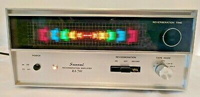 Rare vintage Sansui RA-700 Reverberation Amplifier - Japan 1975 - TESTED