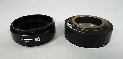 Olympus Microscope Vm Aux Polarizing Polarizer Filter Set W Adapter Vm-pol