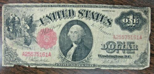 US - $1.00 U.S. NOTE  (Legal Tender) SERIES  1917~  LARGE NOTE