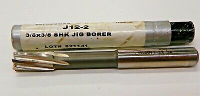 Weldon J12-2 38 X 38 Shank Jig Borer Reamer Edp35026   E168