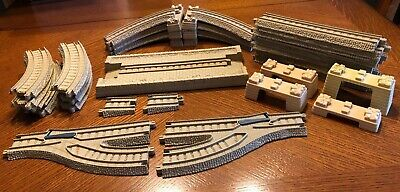 Thomas the Train plastic trackmaster tan track expansion pack set instructions