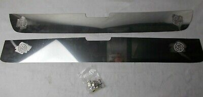 """Stainless Steel Grill Inserts """"White Out"""" Fits; Chevrolet Silverado 2003-2006"""