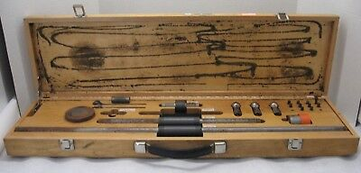 Vintage Socketed Ball-bar Set Standard Reference Material 2083 In Wooden Case