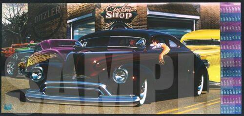 2008 PPG Hot Rod Calendar Print