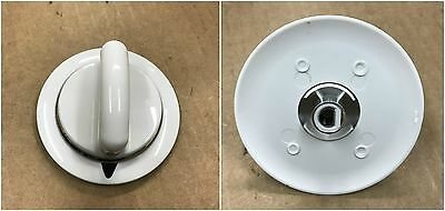 White Knob for General Electric Hotpoint GE Dryer # WE1M654