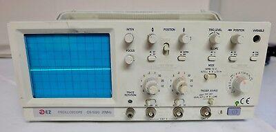 Ez Oscilloscope Os-5020 20mhz 115v 45w Free Shipping Oscope