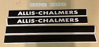 Allis Chamler 200 Hood Decals