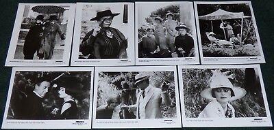 ENCHANTED APRIL 1991 ORIGINAL SET OF 7 BLACK & WHITE PRESS PHOTO STILLS