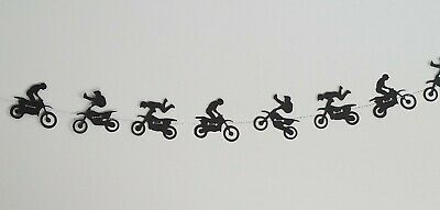 Dirt Bike Garland / Motocross Garland / Racing Party Supply (611B)