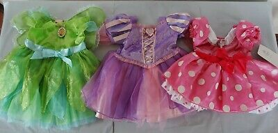 Disney Store Baby costume dress for 12-18 m: TINKERBELL, RAPUNZEL, MINNIE