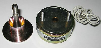 Lucas Ledex Conical Face Electric Cylindrical Solenoid - 5.2 To 16 V Dc - 16 Lbs