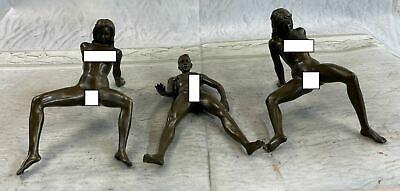 Erotic Art Great Action Bronze Artwork Every Man Fantasy Hot Cast Sculpture Sale